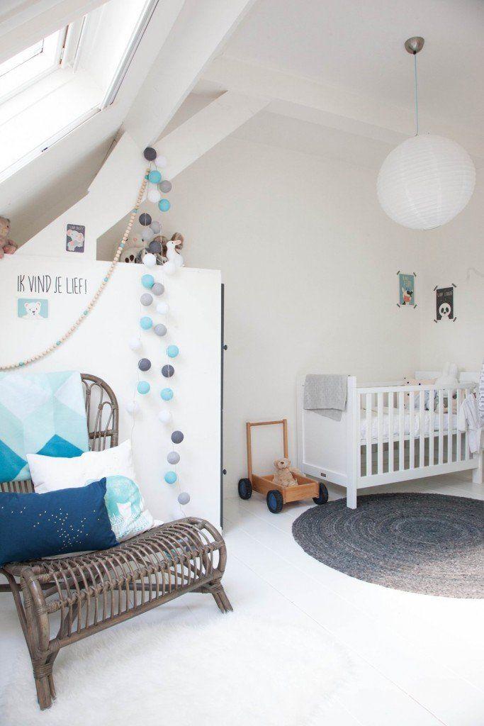 Mejores 24 im genes de en azul habitaciones de beb en for Habitacion infantil nordica