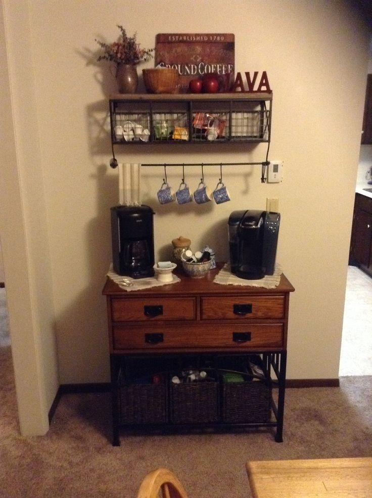 Coffee bar!!