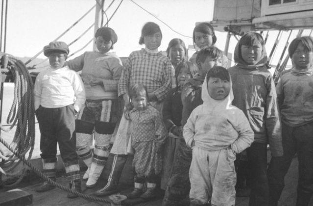 © Fonds Charcot - Image d archive des expéditions de Jean-Baptiste Charcot - Groenland