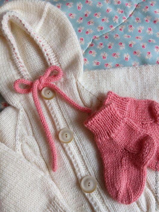Одежда ручной работы. Ярмарка Мастеров - ручная работа. Купить Комбинезон для новорожденной девочки. Handmade. Комбинезон детский, одежда для новорожденных