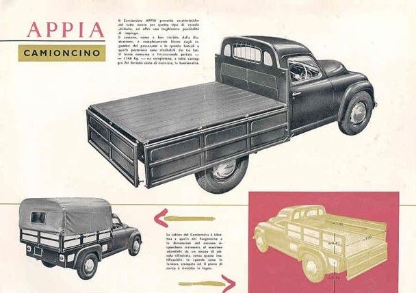 Appia Camioncino