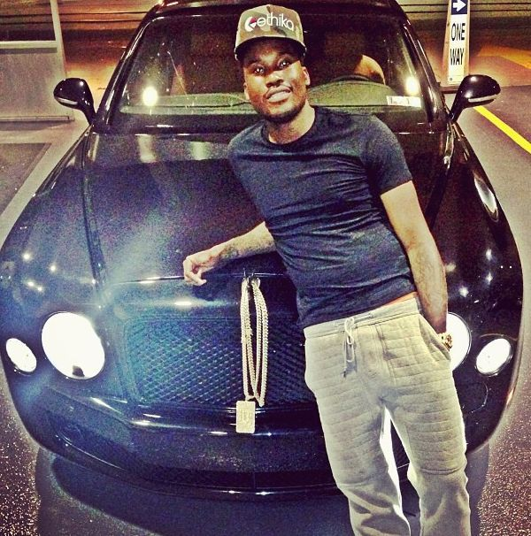 Meek Mill Cars | Meek Mill lays on Bentley car New Hip Hop Beats Uploaded http://www.kidDyno.com