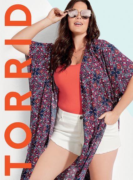 38d3d59d878 Torrid - lookbook женской одежды больших размеров из США лето 2018 (Часть  3)  plussize  curvy