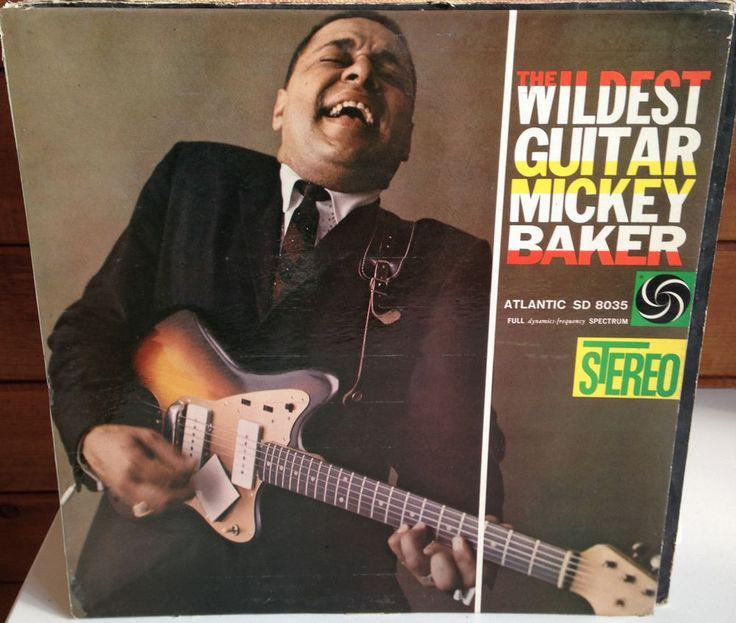 MICKEY BAKER The Wildest Guitar LP 1959 Atlantic SD-8035 GREEN LABEL  #RhythmBlues