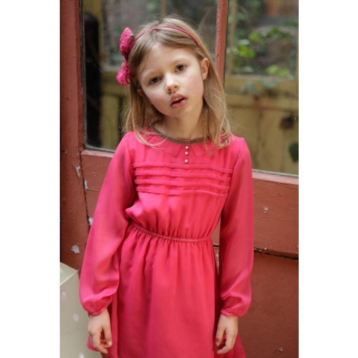 Amelia May Dress - Pink - Partywear - Girls   baby ...