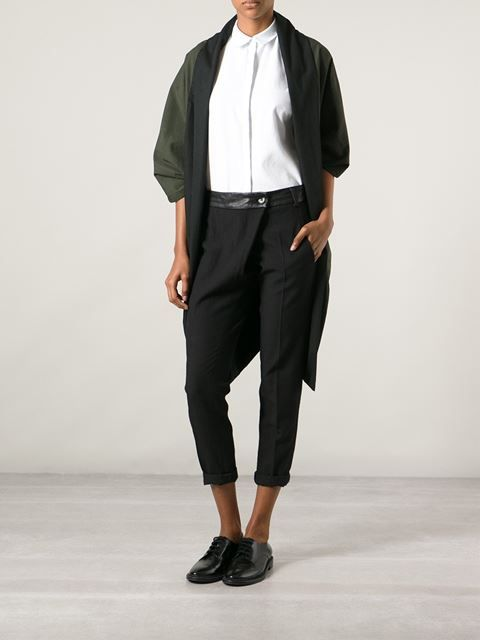 Military cape / Upside down