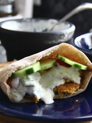 Greek Style Quinoa Burger