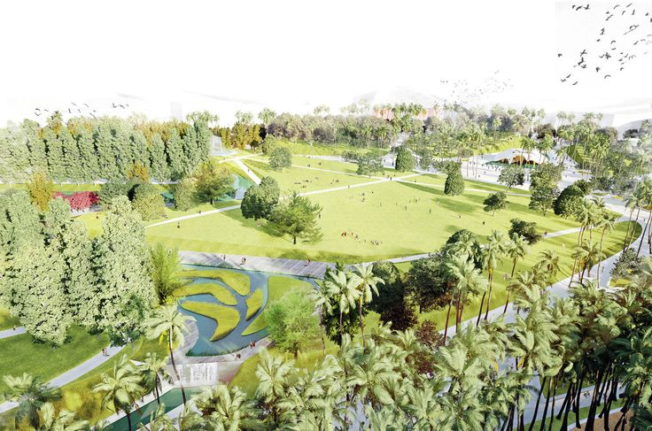 Gallery of Valencia Parque Central Proposal / West 8 - 8