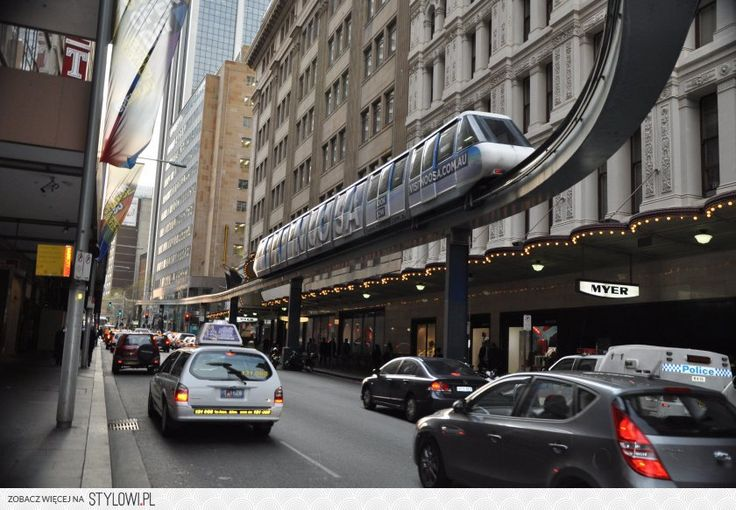 Monorail, George Street, Sydney