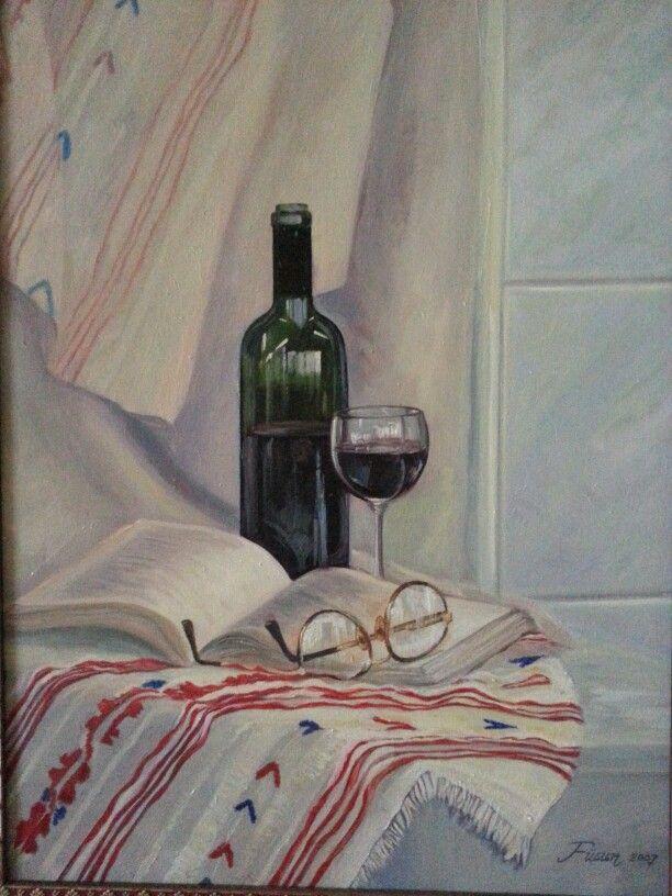 Oil on canvas- Fusun Ogreten