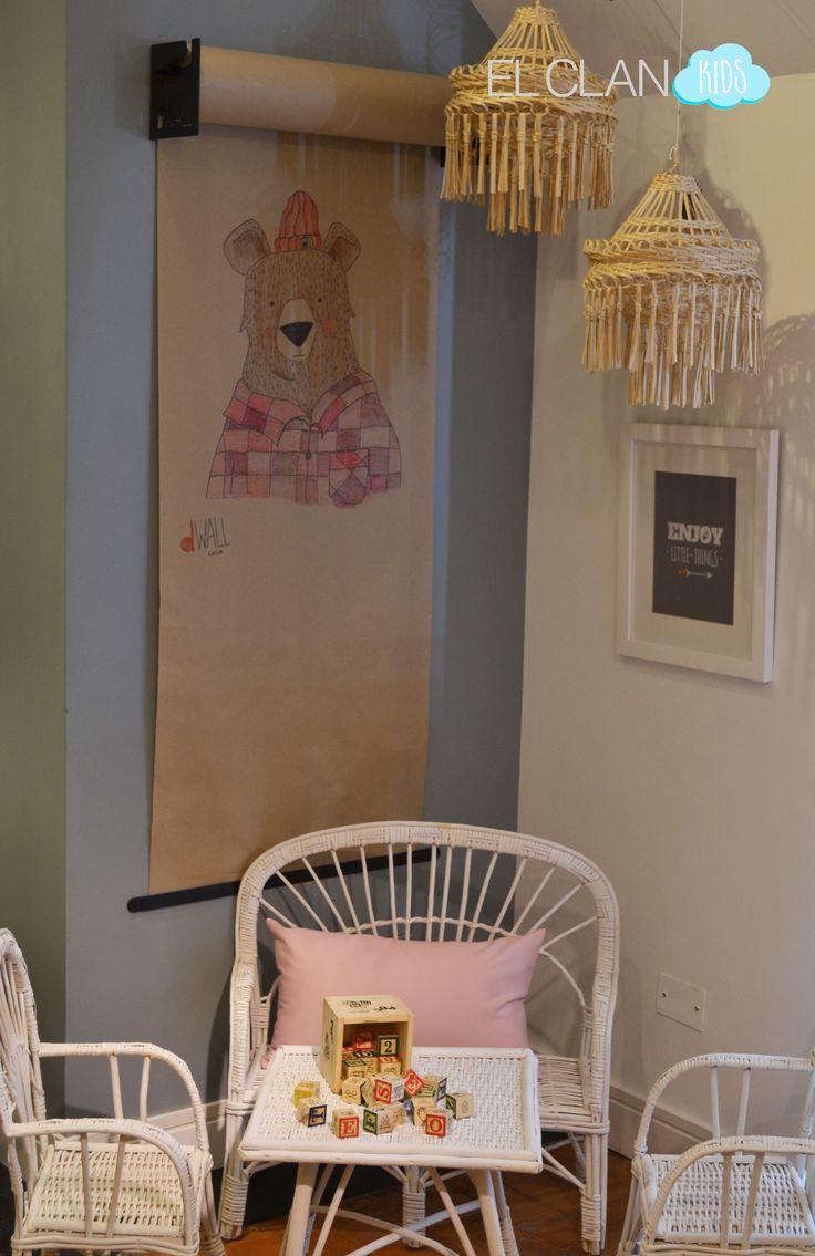 Ideal para dibujar en la salita o dormitorios de niños, dWALL en el Clan Kids!!