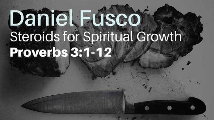 Listen to Pastor Daniel Fusco as he talks about simple truths that will help you grow spiritually, in his study today in Proverbs chapter 3.