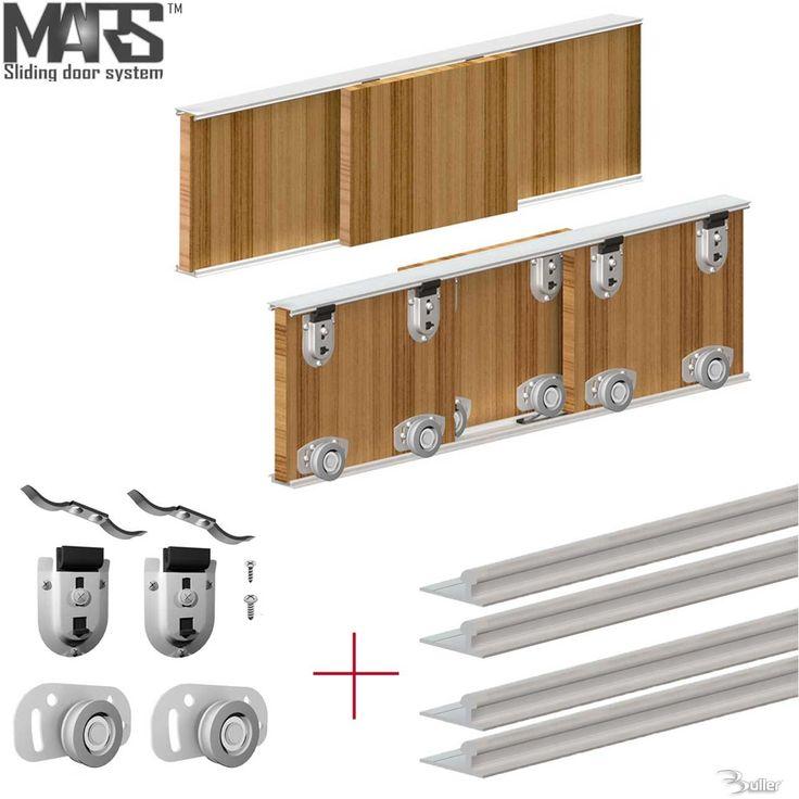 Mars Premium Wardrobe Sliding Door DIY Kit System | Diy ...