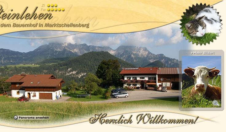 Steinlehen Marktschellenberg - Urlaub auf dem Bauernhof - Ferienwohnung, Appartement, Zimmer, Pension in Marktschellenberg, Berchtesgadener Land