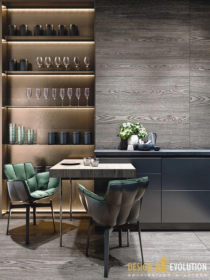Beautiful modern kitchen/dinette area
