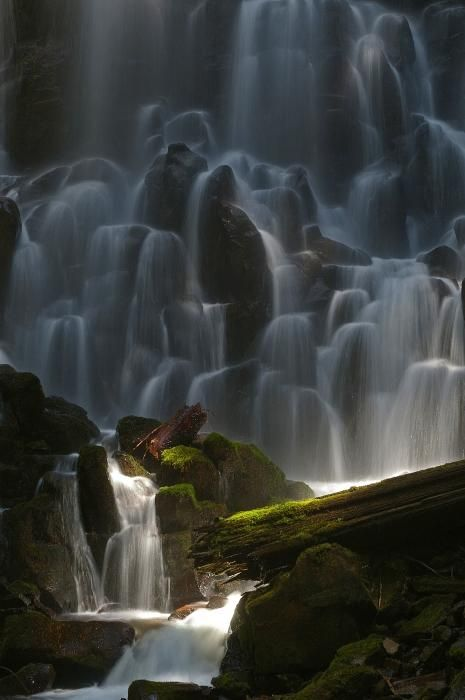 Ramona Falls, Oregon: Hike up a 7 mile loop trail to 120-foot falls