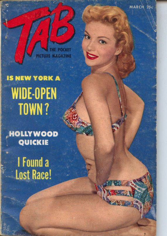 Tab Magazine March 1952 Digest Size PIN-UP GIRLS Mature