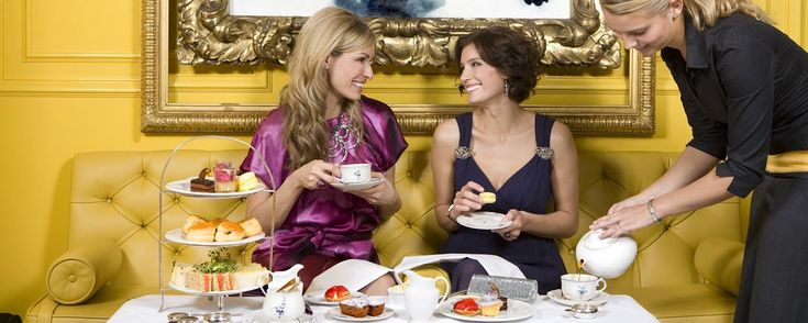 The Goring afternoon tea