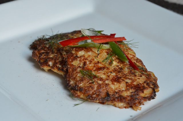 Forever Nutrition: Cauliflower cheese fritters