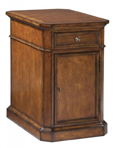 Hekman Furniture European Legacy Storage End Table 11106    Click Image To  Review More Details