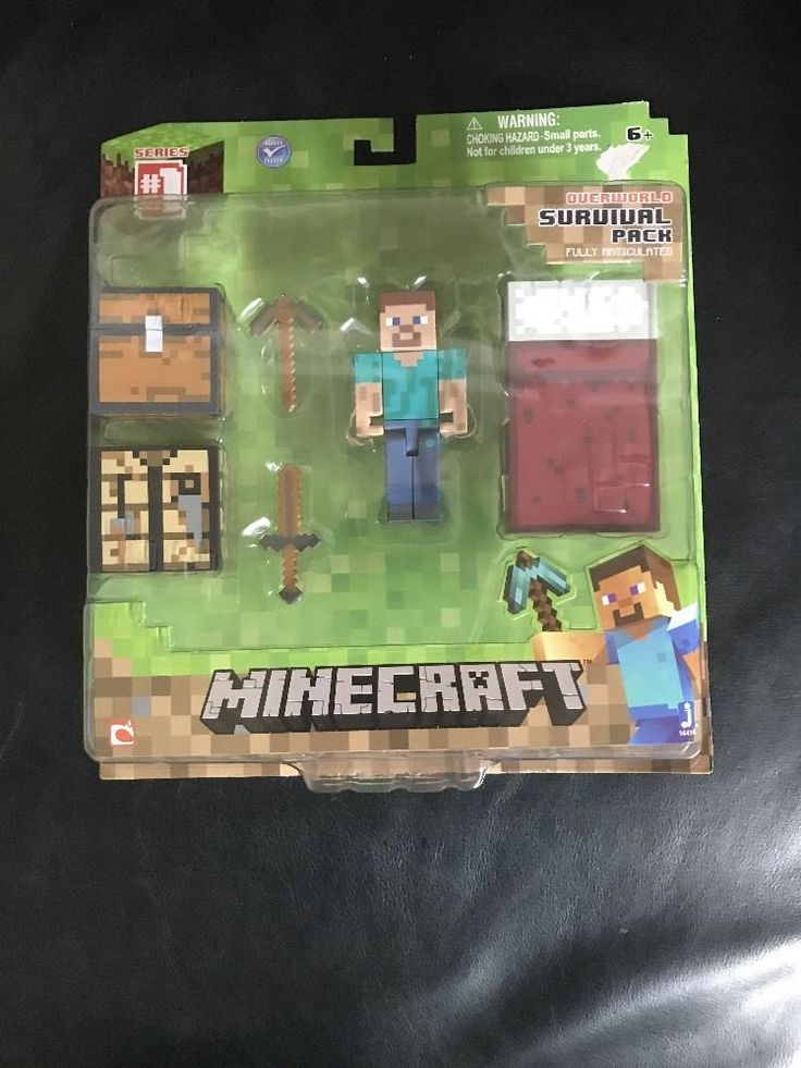 Minecraft Core Player Survival Pack Action Figure #Mahjong