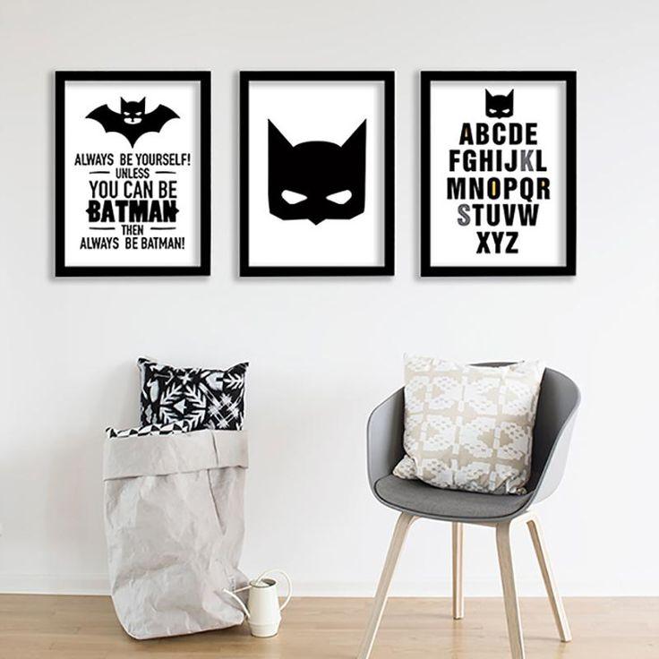 Nordic Posters And Prints Wall Art batman kids room Art Print Wall Pictures For Living Room Kids Room Batman Poster Unframed #walldecor #interiordesigner #homedesign #homedecor #interiordesignideas #wallartprints #artdecor #walldecor #photocanvas #artprint #canvasphotoprints #wallartdecor #wallpainting #livingroomwalldecor