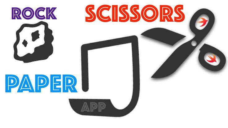Swift 2.0 Programming Language  App : Rock Paper and Scissors Game