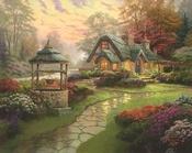 Thomas KinkadeThomas Kincaid, Thomas Kinkaid, Kinkade Art, Thomas Kincade, Cottages, Kinkade Painting, Thomas Kinkade, Art Pictures, Oil Painting