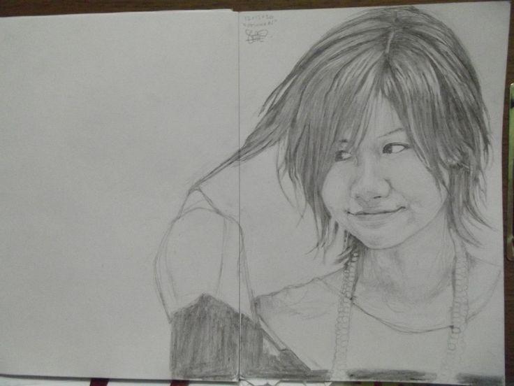 """Ai Otsuka"" pencil on A4 paper"