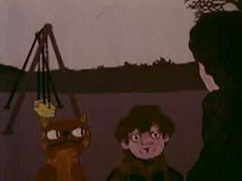 Scary 70s public information films from Britain. this P.I.F is about a young child and his pet cat who do stupid things to get them into trouble and a voice over narrating the situation that they can avoid if they listen to a parent. it tells the audience how many dangers young kids are in if they don't listen.