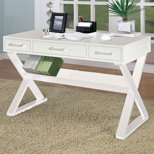 white desk for home office. shop joss u0026 main for your jillian writing desk add some classic charm to home settings with the elegant and beautiful wildon bicknell white office h