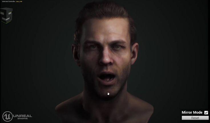 ICYMI: A este alucinante personaje virtual de Unreal Engine se le mueve hasta el último músculo de la cara