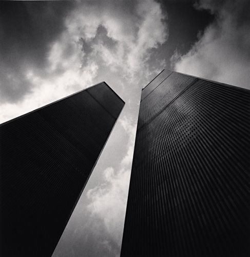Remembering - Twin Towers, Study 2, New York City {Michael Kenna}