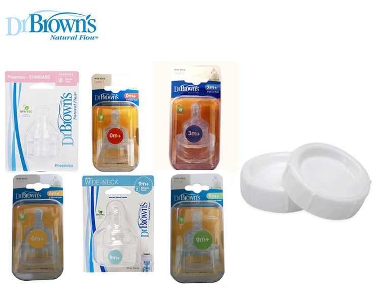 Dr brown's baby #bottle #natural flow teats (all size available) / #travel caps,  View more on the LINK: 	http://www.zeppy.io/product/gb/2/321761855860/