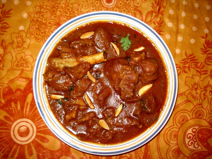 Cuisine of Karachi: Rogan Josh  روغن جوش