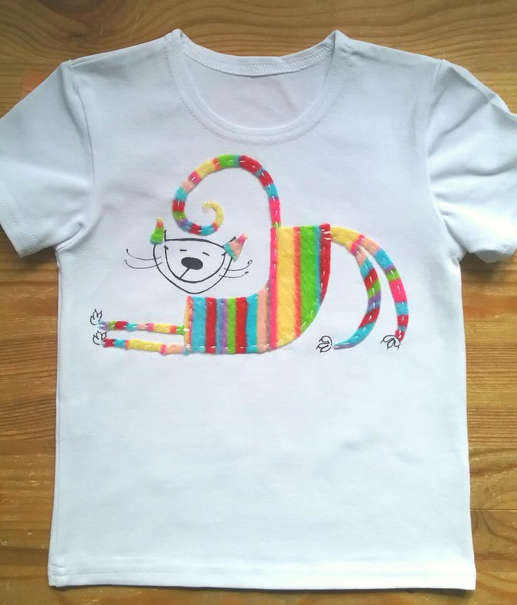 "Пушкинсу хорошо! Футболка из серии "" Кот Пушкинс"" принимаю заказы!) T-shirt ""Pushkins feel good!"" from the series ""Cat Pushkins""  applique and resenrch on the shirt. take orders!"