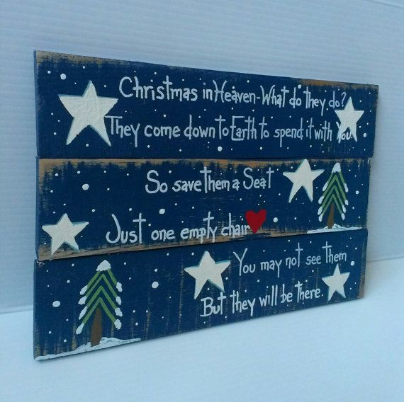 Handmade wood Christmas sign Christmas in by MorningStarWoodSigns