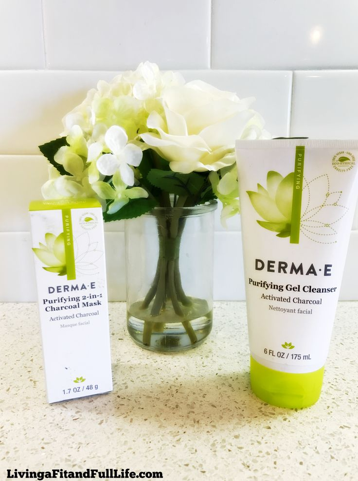 Detoxify Your Skin with DERMA E's Activated Charcoal Products! @dermae #dermaesocial