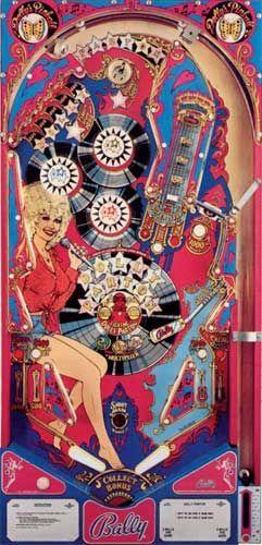 Dolly Parton Pinball Machine For Sale Bally 1978 #dollyparton #pinball