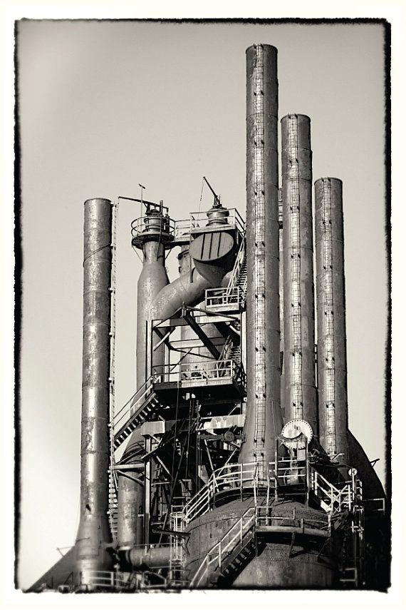 Bethlehem  Steel Postcard Photography Set  Wall Art by scottkrycia, $5.99