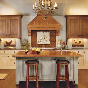 Our Best Cottage Kitchens | Warm: Wood Cabinets, Cottages Style, Beautiful Kitchens, Cottages Kitchens, Southern Living, Kitchens Ideas, Country Kitchens, Wood Countertops, Kitchens Makeovers