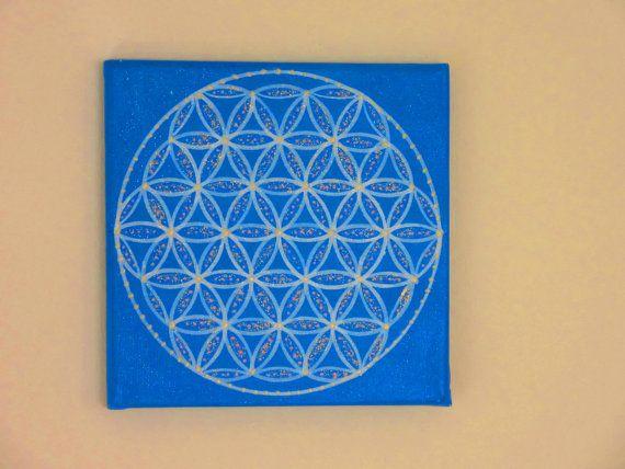 18 best blume des lebens images on pinterest blumen heilige blume des lebens blau wei heilige geometrie blume von bezauberndes altavistaventures Gallery