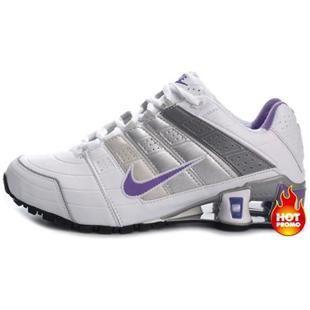 www.asneakers4u.com Womens Nike Shox NZ 2 White Purple Black