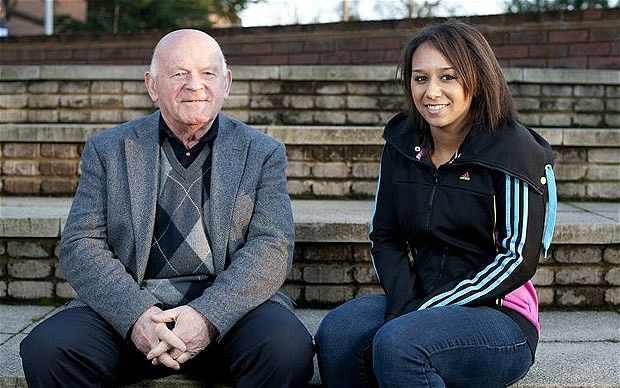 In January, Zoe Smith met Ben Helfgott as they discussed weightlifting & she heard his story. We're pleased she's doing so well in #London2012
