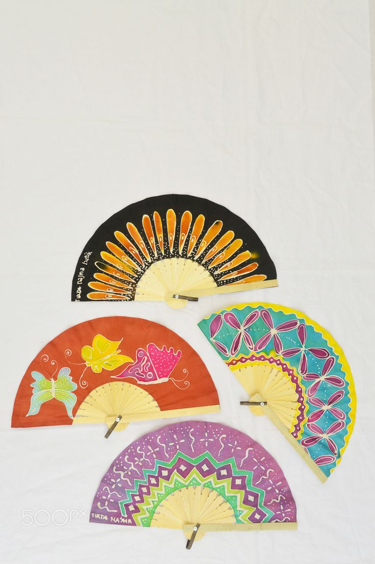 Handmade Fans - beautiful,economic handmade batik fans,very unique for your present or souvenir for your special occassion, such as your marriage. Only @ www.facebook.com/originalbatik. Please contact 6282138855698 for closer inquiries and order