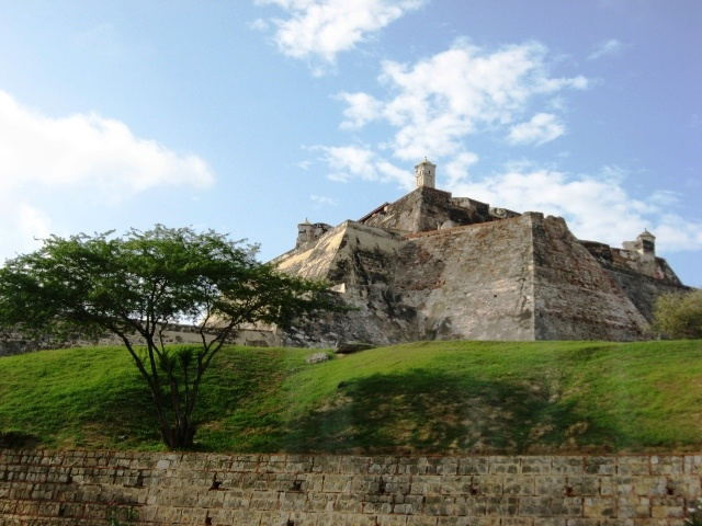 Colombia - Castillo de San Felipe, Cartagena, Bolivar.