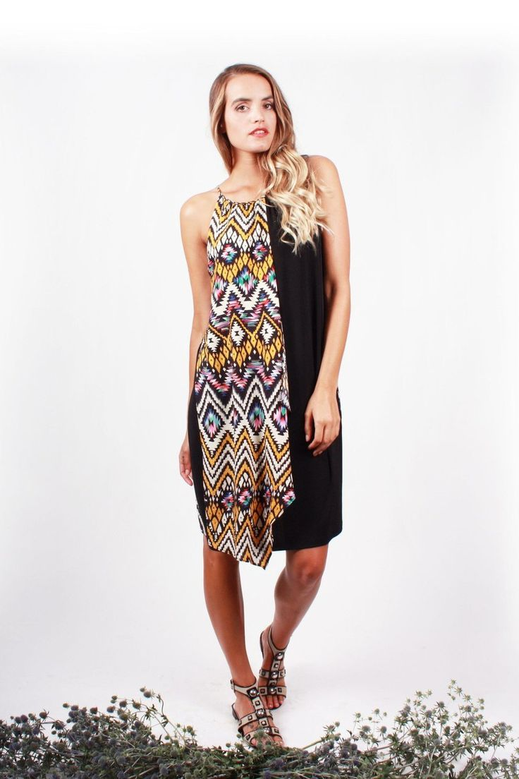 The Paua Room - Aztec print dress, $149.00 (http://www.thepauaroom.com/aztec-print-dress/)