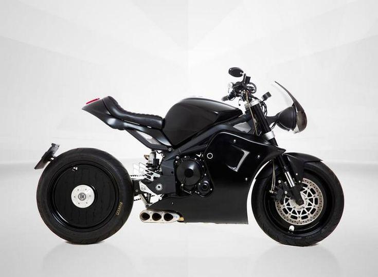 Italian Dream Motorcycle Imagined The Tripla 0.0 675cc