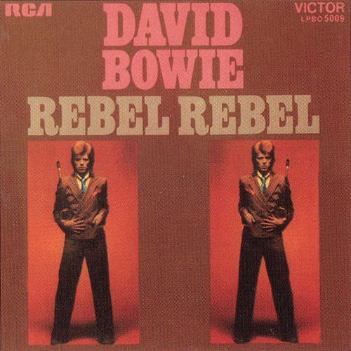 """Rebel Rebel"" * Classic David Bowie song from the Album Diamond Dogs."