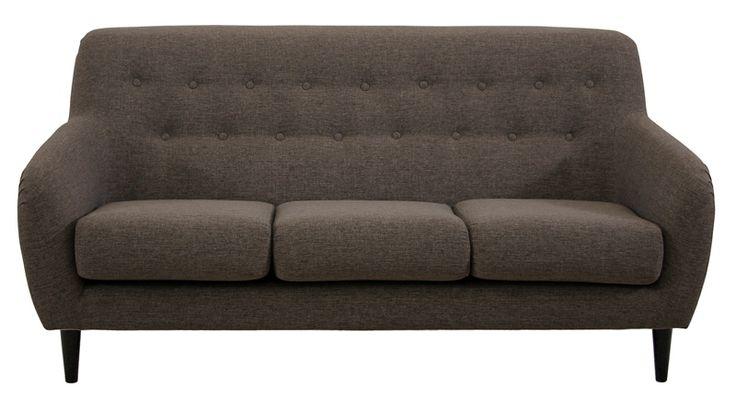 Er det på tide å fornye stua? Finn din nye sofa hos Fagmøbler; velg blant våre flotte modeller eller bygg din helt egen modulsofa.Twist sofa3-seter, stoff Gordon